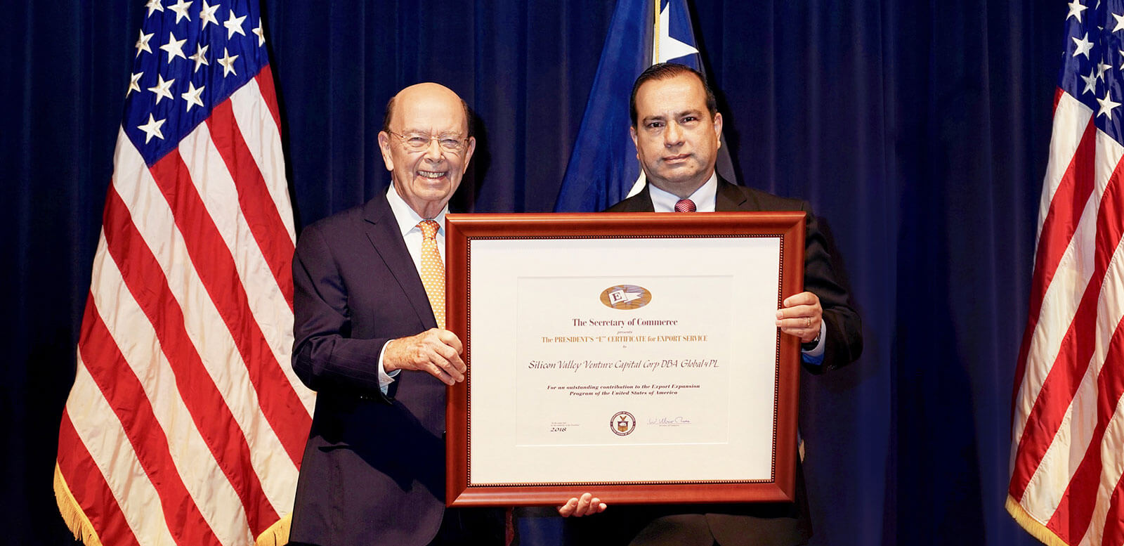 Presidential Award for Export Service
